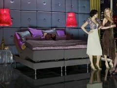 Letto imbottito matrimoniale reclinabile in tessutoMARSTRAND - CARPE DIEM BEDS OF SWEDEN