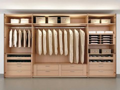- Beech walk-in wardrobe MULTI-FORMA II | Beech walk-in wardrobe - Hülsta-Werke Hüls