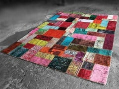 Handmade patchwork rug ALL NATIONS - Miinu