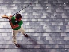 - Ceramic slate roof tile ARDESIA CERAMICA 25x40 - ARDESIE CERAMICHE