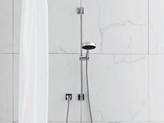 - Shower panel with hand shower FARAWAY | Shower panel with hand shower - ZUCCHETTI