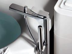 - Floor standing bathtub mixer with hand shower SOFT | Bathtub mixer - ZUCCHETTI