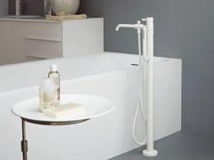 - Floor standing bathtub mixer with hand shower PAN | Floor standing bathtub mixer - ZUCCHETTI