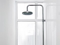 - Shower panel with overhead shower PAN | Shower panel with overhead shower - ZUCCHETTI