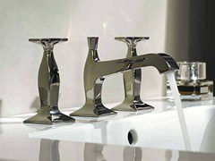 - 3 hole chrome-plated washbasin tap BELLAGIO | Washbasin tap - ZUCCHETTI