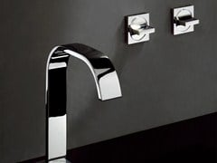 - Wall-mounted chrome-plated washbasin tap AGUABLU | Washbasin tap - ZUCCHETTI