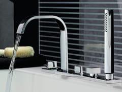 - 5 hole bathtub set with hand shower AGUABLU | Bathtub set - ZUCCHETTI