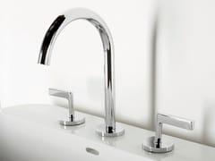 - 3 hole chrome-plated washbasin tap SIMPLY BEAUTIFUL | 3 hole washbasin tap - ZUCCHETTI