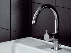 - Chrome-plated 1 hole washbasin mixer SIMPLY BEAUTIFUL | Washbasin mixer - ZUCCHETTI
