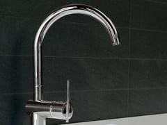 - 1 hole kitchen mixer tap SPIN | 1 hole kitchen mixer tap - ZUCCHETTI
