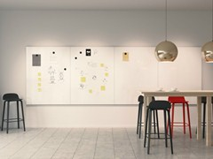 - Modular office whiteboard PROVISION - Abstracta