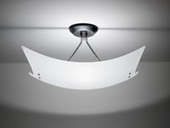 - Glass ceiling lamp TEOREMA | Ceiling lamp - Fabbian