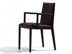 - Upholstered chair with armrests CARLOTTA | Chair with armrests - Andreu World