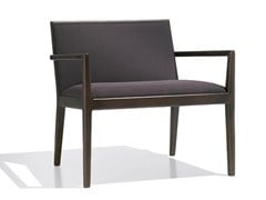 - Upholstered easy chair with armrests CARLOTTA | Easy chair with armrests - Andreu World