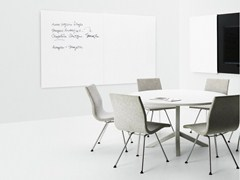 - Wall-mounted office whiteboard VISION - Abstracta