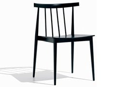 - Stackable beech chair SMILE | Chair - Andreu World