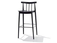 - Beech counter stool SMILE | Counter stool - Andreu World
