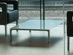 - Rectangular glass coffee table ANTEA | Rectangular coffee table - ROSSIN