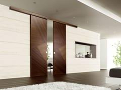 - Wooden sliding door RIO CANALETTO | Sliding door - Ghizzi & Benatti