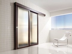 - Glass sliding door SPAZIO | Sliding door - Ghizzi & Benatti