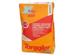- Cement adhesive for flooring X-TILE 400 - Torggler Chimica