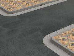 Cordoli in calcestruzzo vibrato a doppio stratoCordolo stradale - CEDA