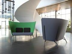 - 2 seater high-back sofa AURA | Sofa - Inno Interior Oy