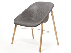 - Polyester easy chair KOLA LIGHT WOOD - Inno Interior Oy