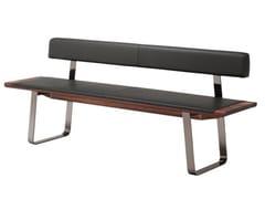- Upholstered leather bench NOX | Leather bench - TEAM 7 Natürlich Wohnen