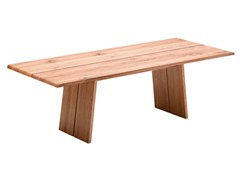 - Rectangular wooden dining table NOX | Table - TEAM 7 Natürlich Wohnen