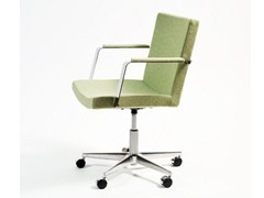 - Chair with 5-spoke base with casters MEDIUM | Chair with 5-spoke base - Inno Interior Oy