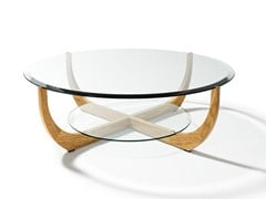 - Low round coffee table for living room JUWEL | Round coffee table - TEAM 7 Natürlich Wohnen