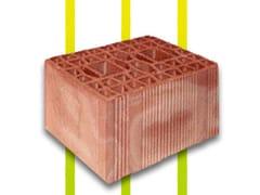 Blocchi in laterizio per  tamponamentiPERLATER® T - CONSORZIO ALVEOLATER