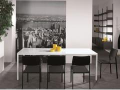 - Rectangular custom table ERNESTO ICE | Rectangular table - YDF