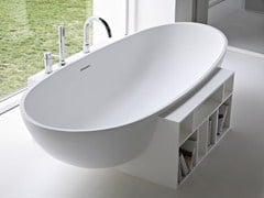 - Freestanding oval Korakril™ bathtub EGG - Rexa Design