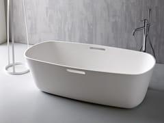 - Freestanding Korakril™ bathtub MASTELL - Rexa Design