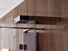 - Wall-mounted waterfall shower LEVA | Waterfall shower - Rexa Design