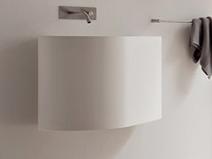 - Wall-mounted Korakril™ washbasin BOMA | Wall-mounted washbasin - Rexa Design