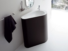 - Freestanding Korakril™ washbasin BOMA | Freestanding washbasin - Rexa Design