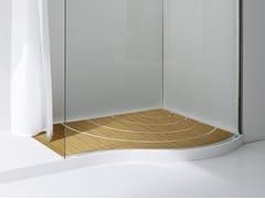 Boma receveur de douche en korakril by rexa design design imago design - Receveur douche teck ...