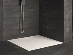 - Flush fitting square shower tray RAZOR | Square shower tray - Glass 1989