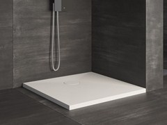 - Square extra flat shower tray RAZOR | Square shower tray - Glass 1989