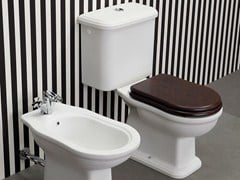 - Close coupled ceramic toilet EFI | Close coupled toilet - CERAMICA FLAMINIA