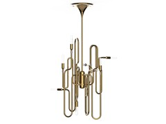 Brass ceiling lamp CLARK - Delightfull