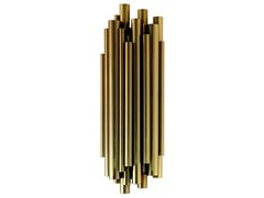 Direct-indirect light brass wall light BRUBECK | Wall light - Delightfull