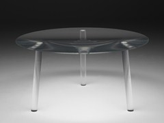 Tavolo rotondo in plexiglass DROP TABLE - Living Divani