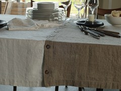 - Linen tablecloth BOTTONI&ASOLE | Tablecloth - LA FABBRICA DEL LINO by Bergianti & Pagliani