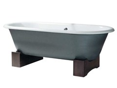 - Classic style freestanding cast iron bathtub VIOLET | Freestanding bathtub - GENTRY HOME