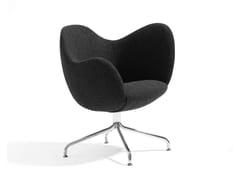 - Swivel easy chair WILMER S - Blå Station