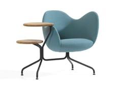 - Trestle-based easy chair WILMER T - Blå Station